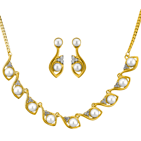 Jpearls Roxanna Pearl Necklace Set