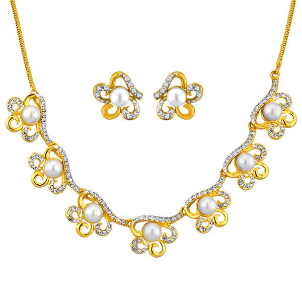 Jpearls Sitara Pearl Fashion Necklace Set
