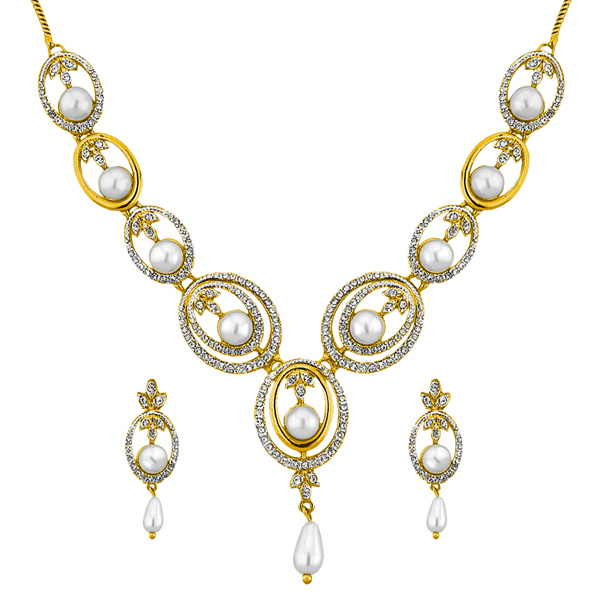 Jpearls Shryln Pearl Fashion Pearl Necklace Set