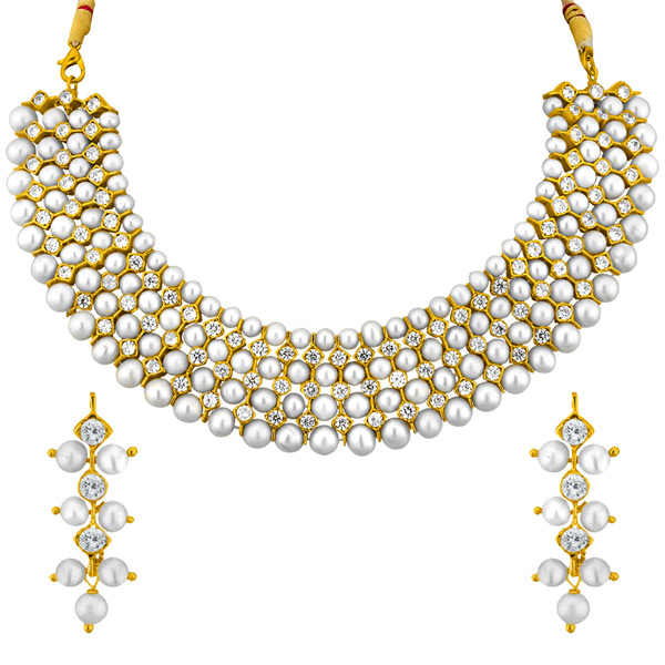 Jpearls Gracious Necklace Set