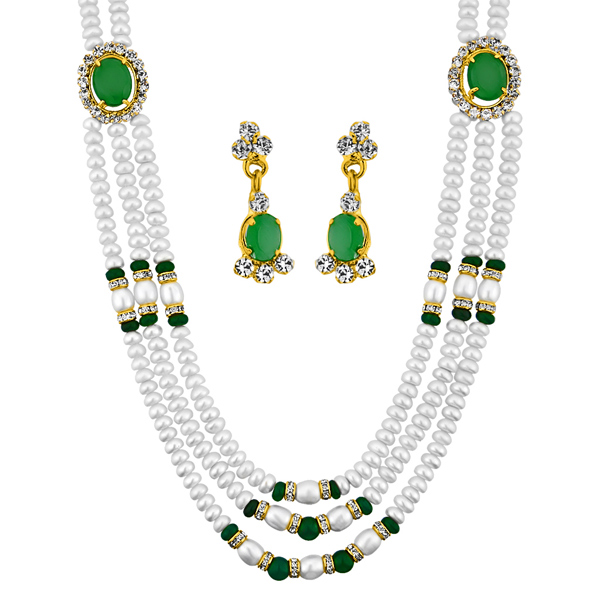 Jpearls Freshwater Necklace Set