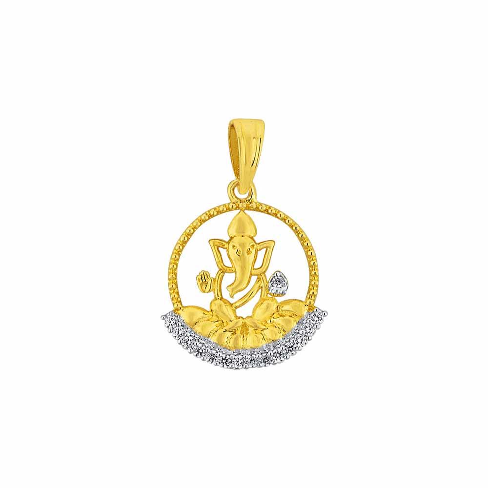 Sri Jagdamba Pearls Siddhipriya Diamond Pendant