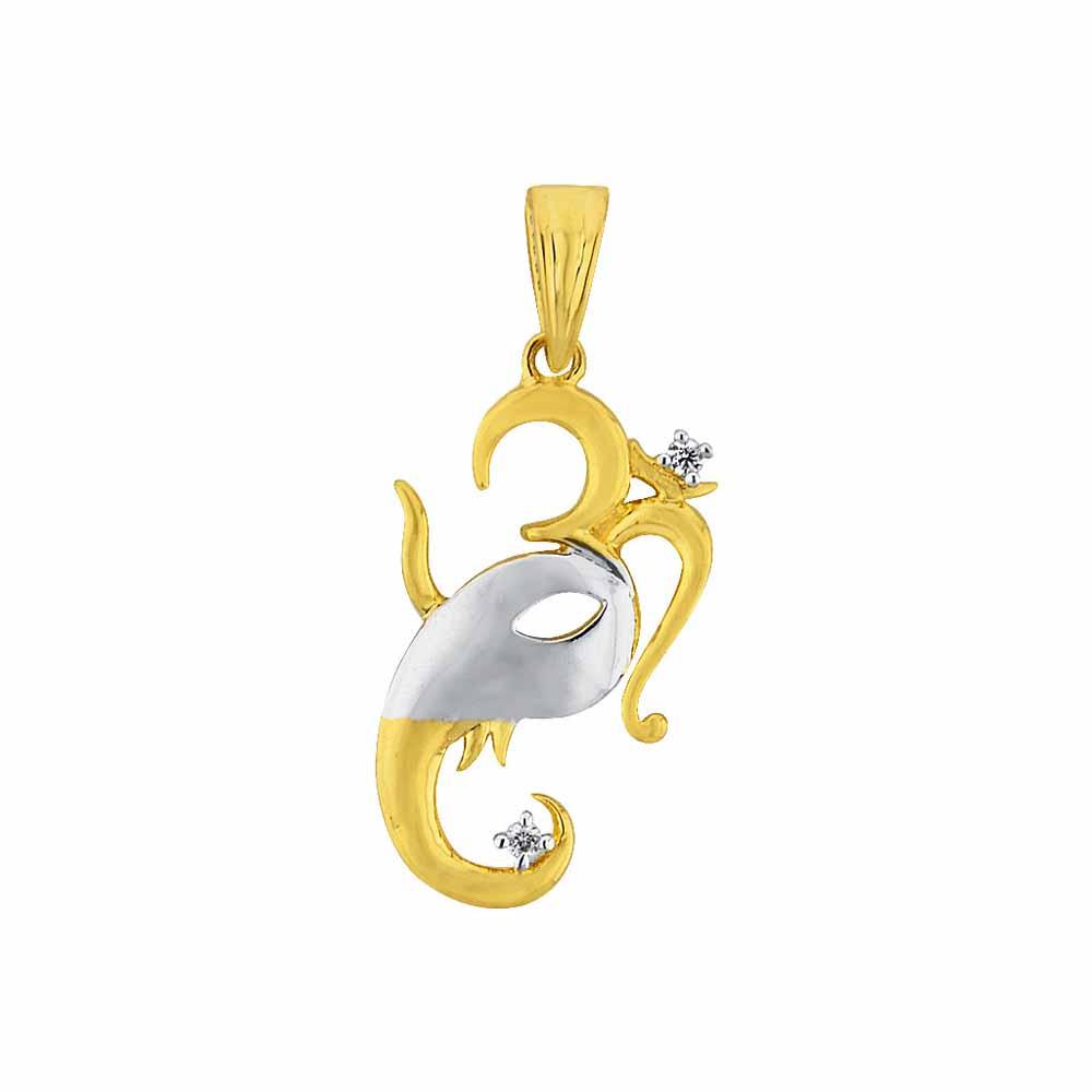 Diamond Pendants-Sri Jagdamba Pearls Sureshwaram Diamond Pendant