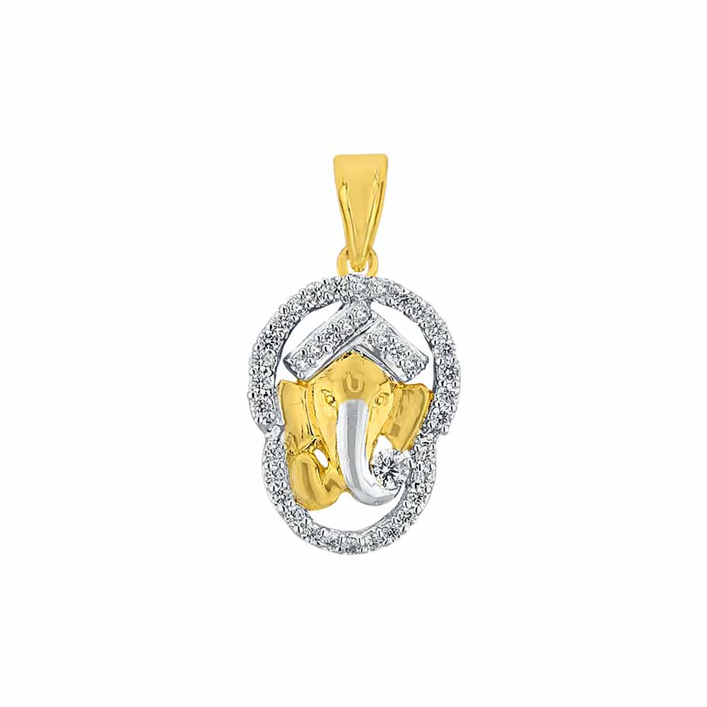 Sri Jagdamba Pearls Devadeva Diamond Pendant