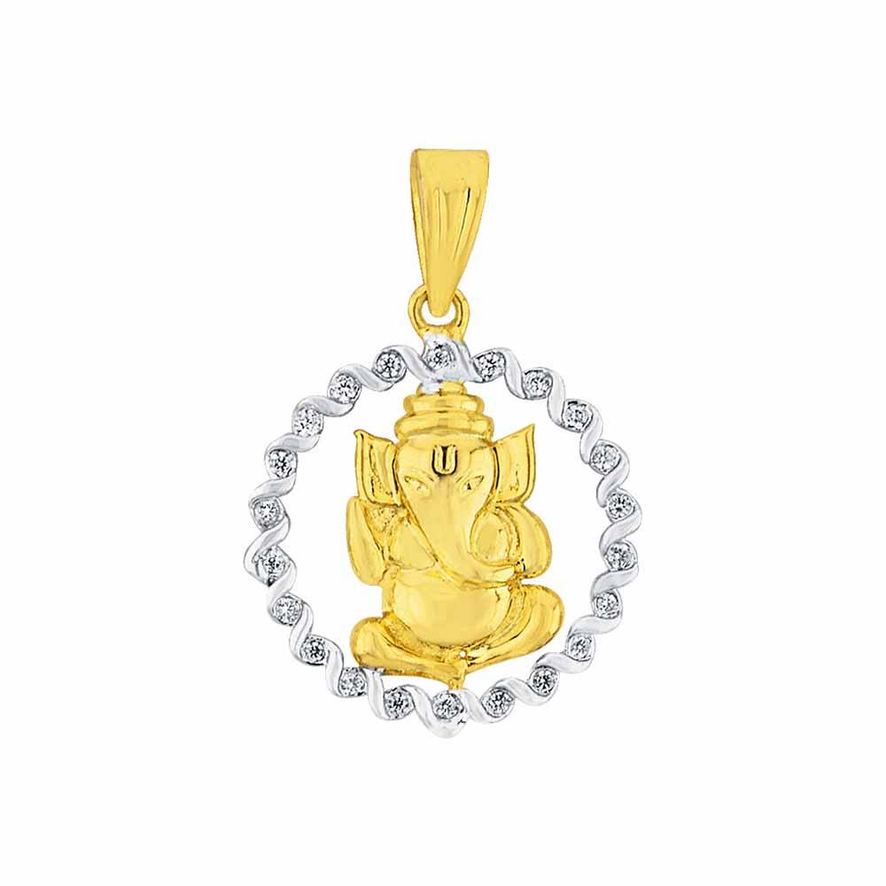 Diamond Pendants-Sri Jagdamba Pearls Shambhavi Diamond Pendant