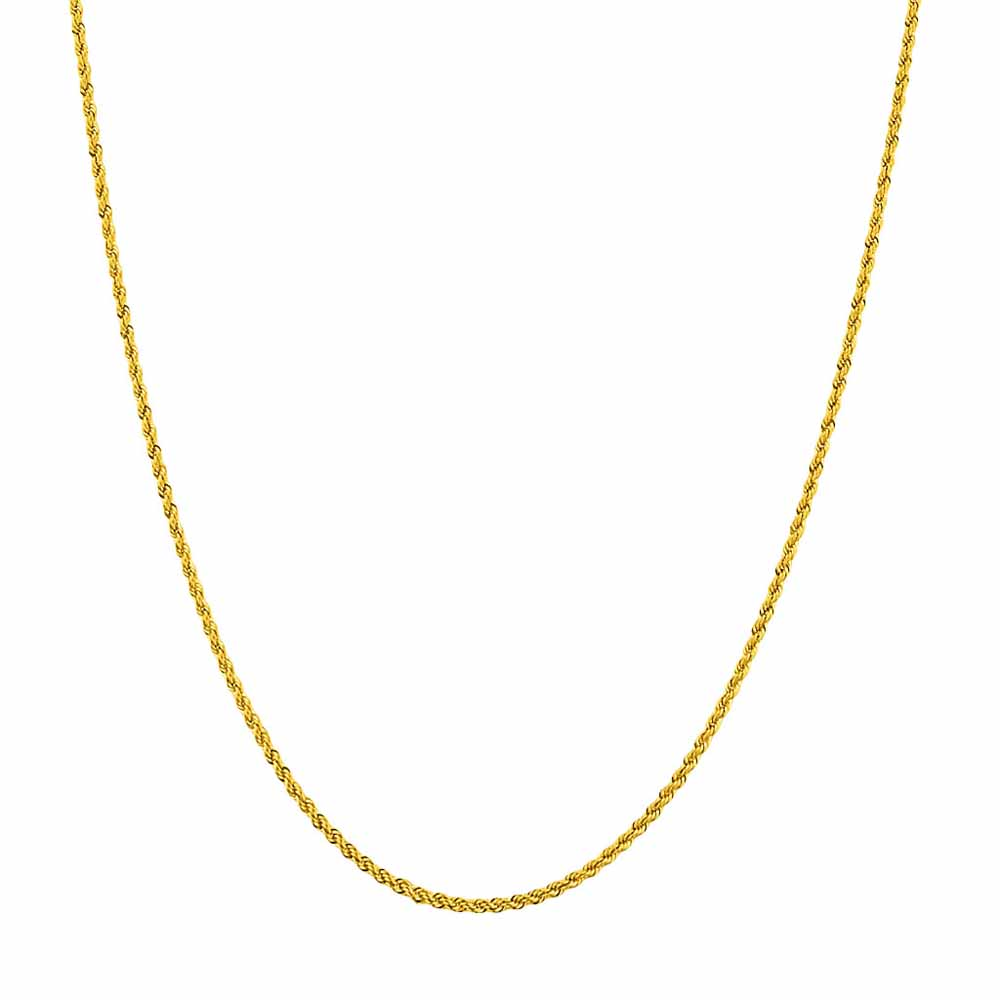 22KT Rope Gold Chain