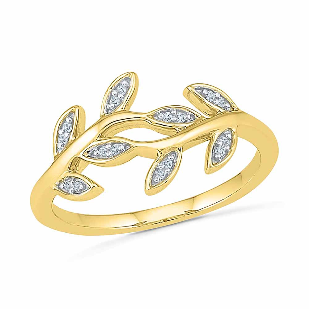 18 KT Gold Awesome Diamond Finger Ring