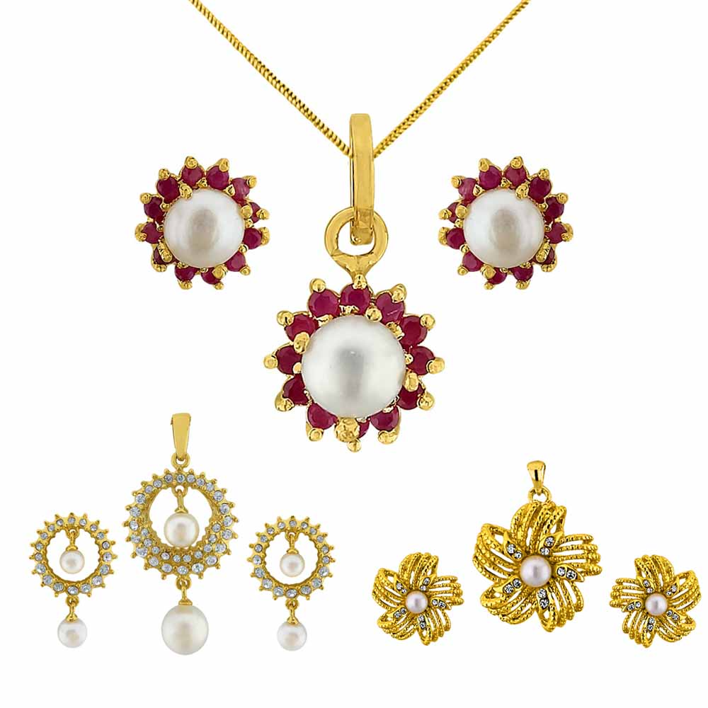 Diwali pearl Combo Set