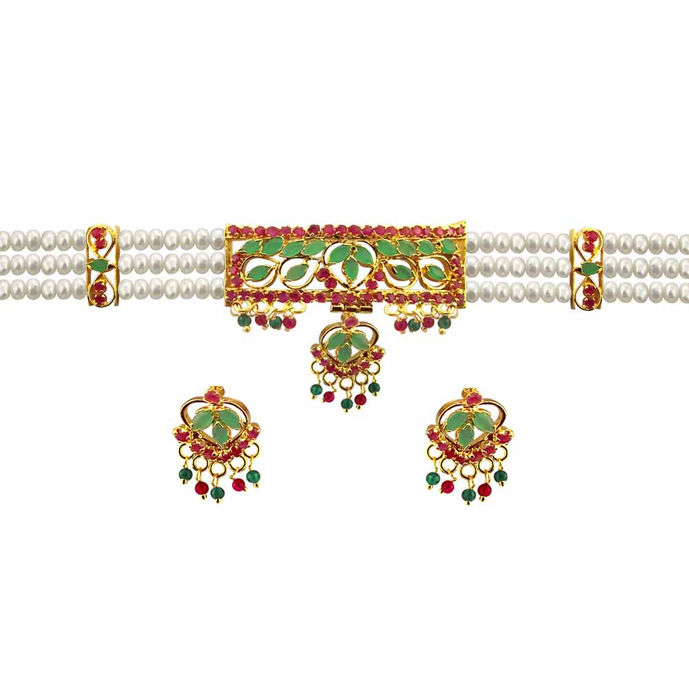 Multi colour choker set