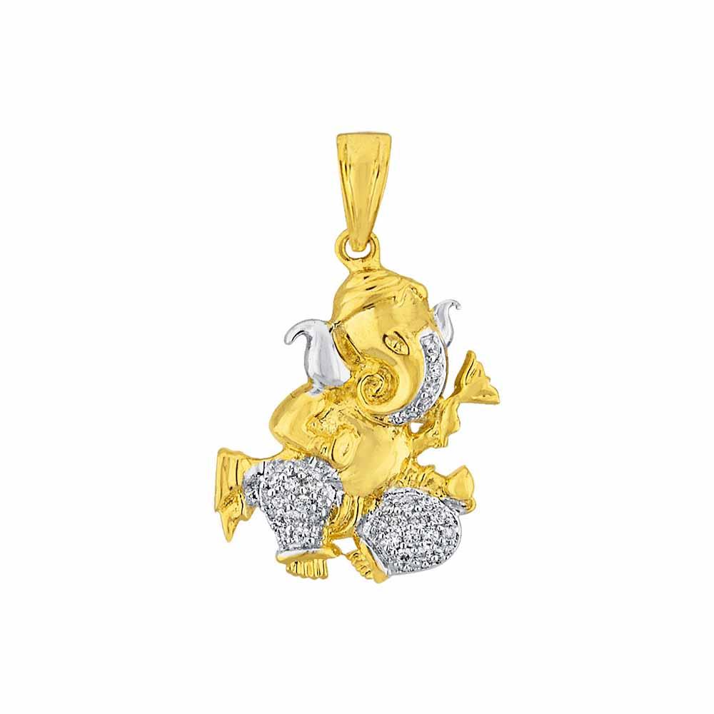 Sri Jagdamba Pearls Namasthetu Diamond Pendant