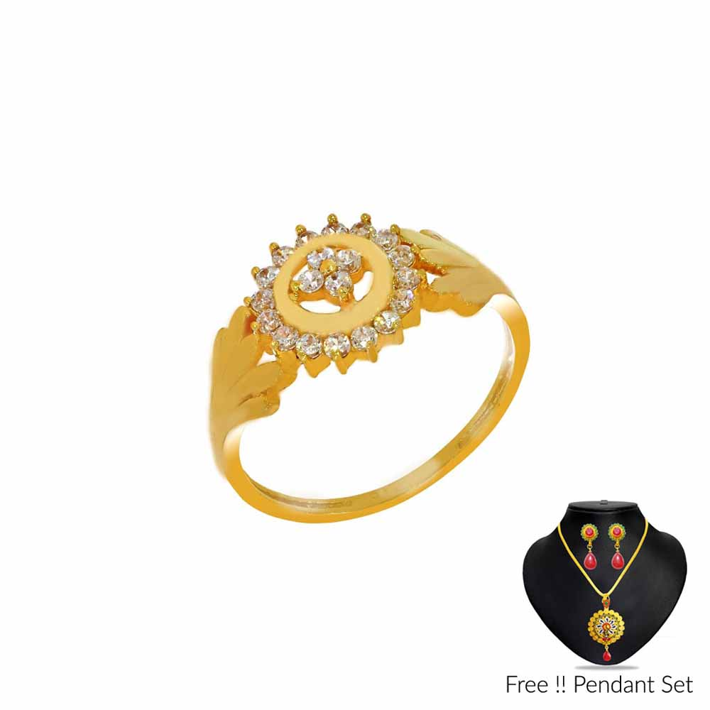 22Kt Ostentatious Gold Finger Ring