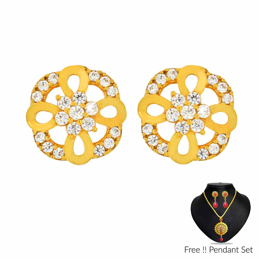 22Kt (916) Annie Gold Earrings