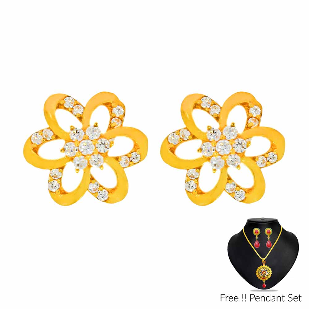 22Kt (916) Treasure Gold Earrings