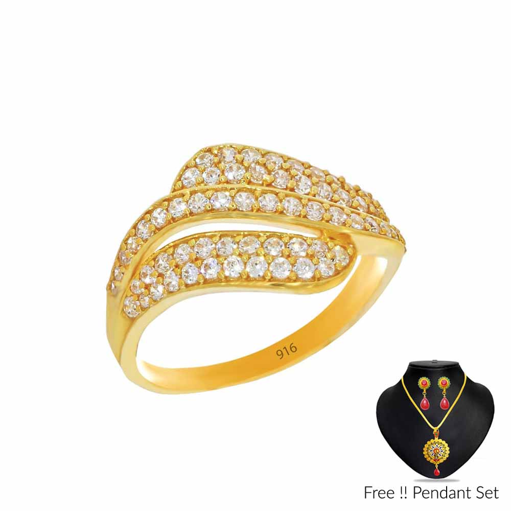 Luxuriousness Gold Finger Ring