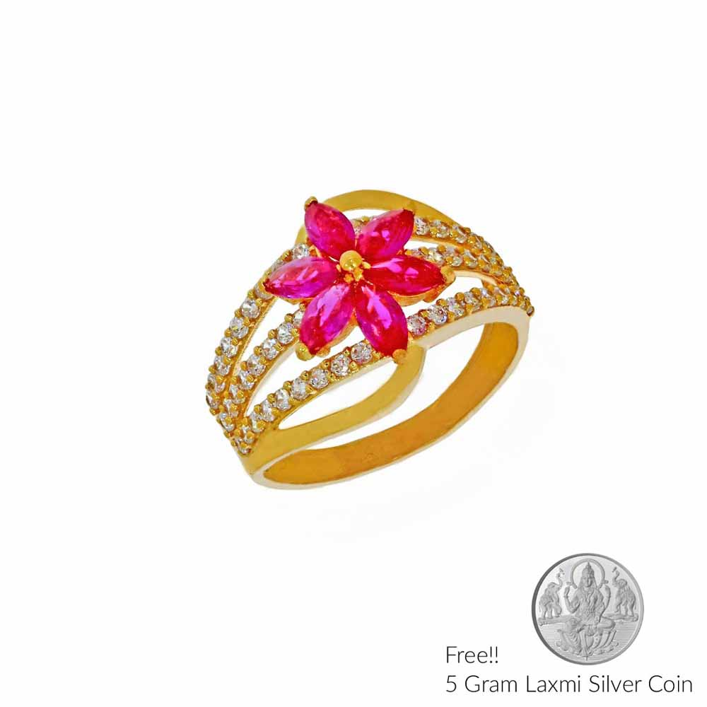 22Kt Celebrity Gold Finger Ring
