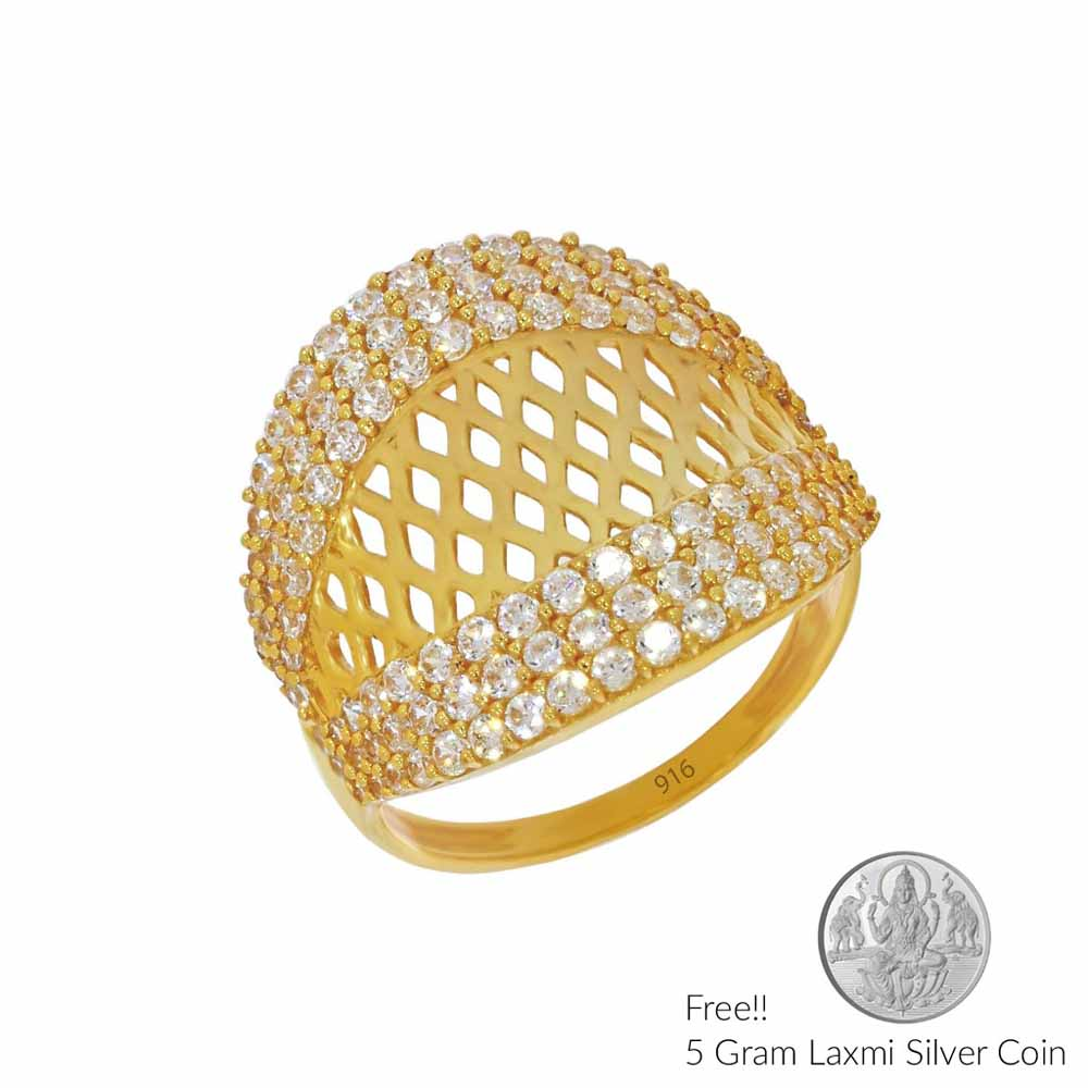 Divined Gold Finger Ring