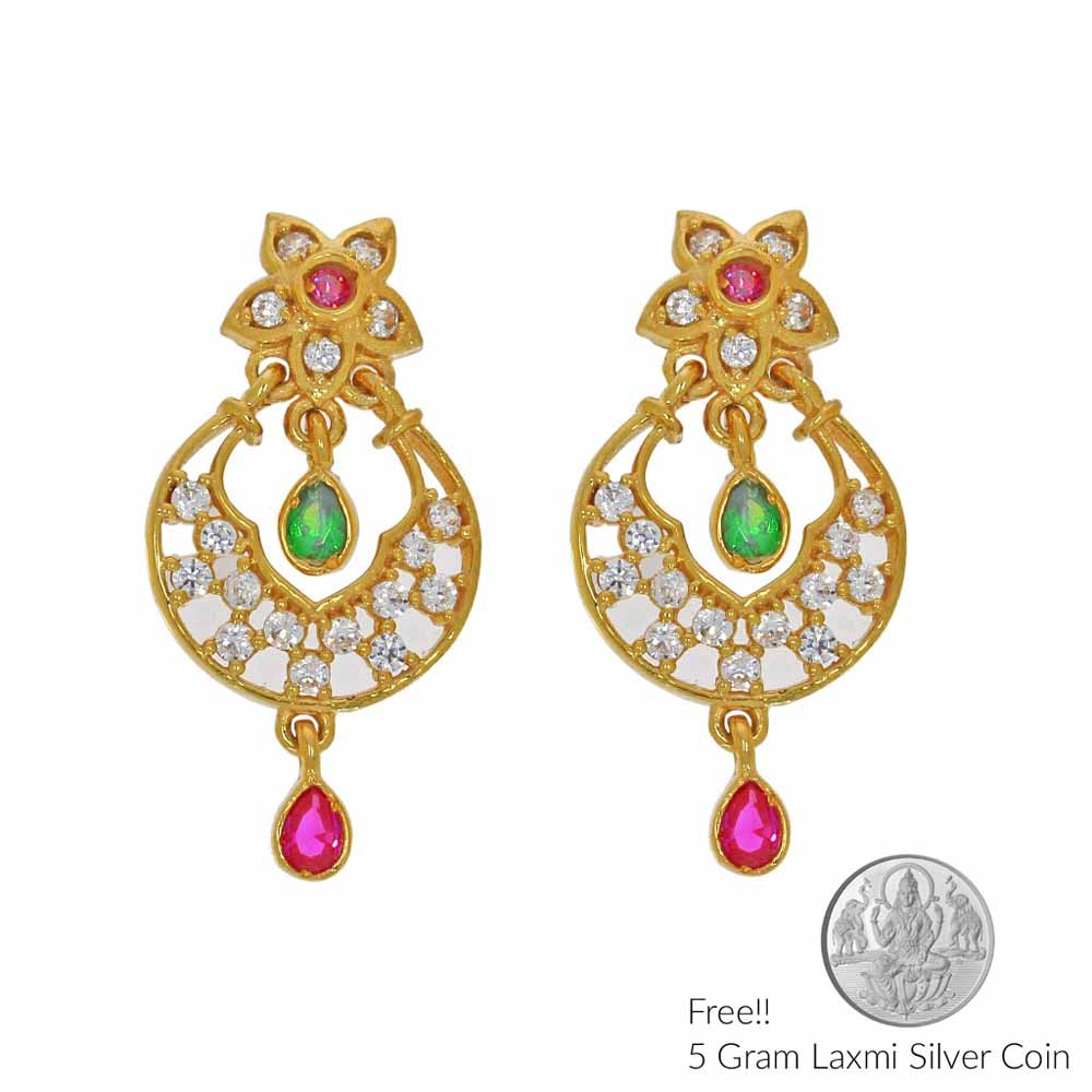 Magnificent 22Kt Gold Earring