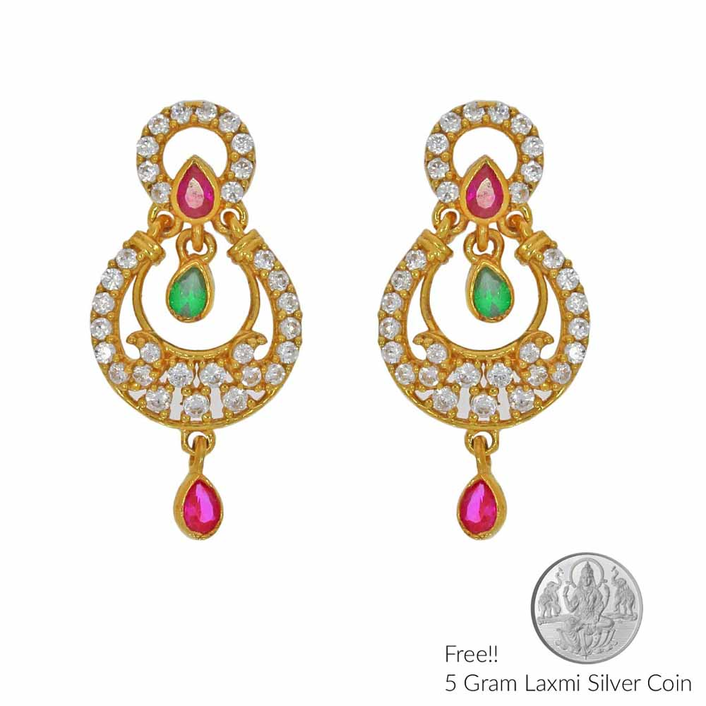 Fantasy 22Kt Gold Earrings