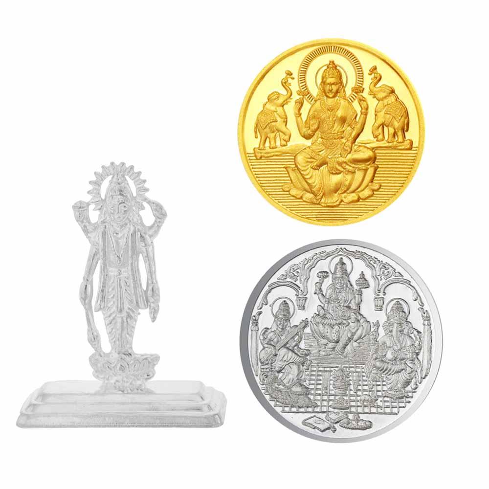 Diwali Special Coin & Idol Hamper
