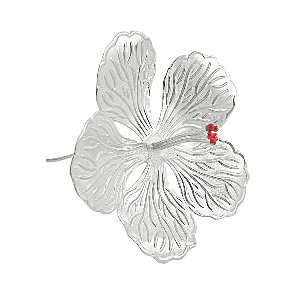 Spiritual Accessories-Puja Silver Flower