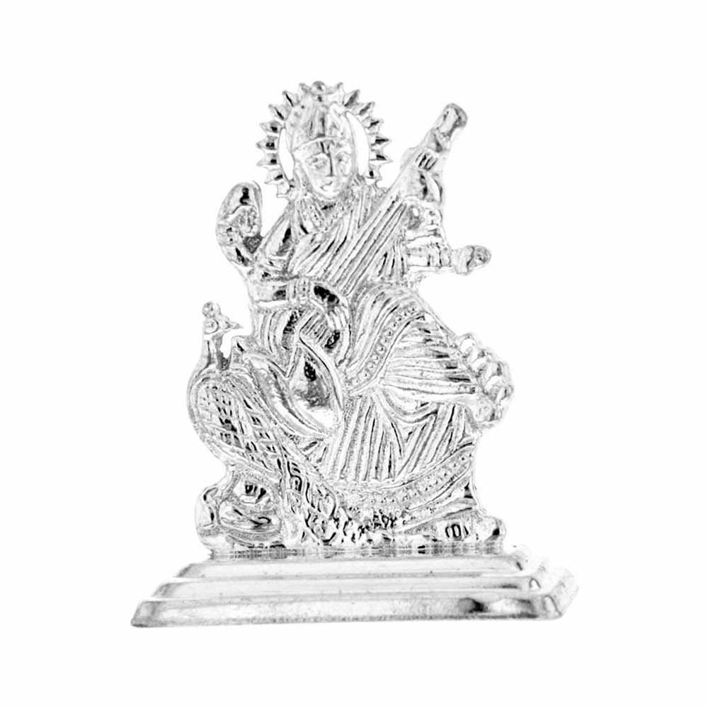 Saraswathi Silver Idol