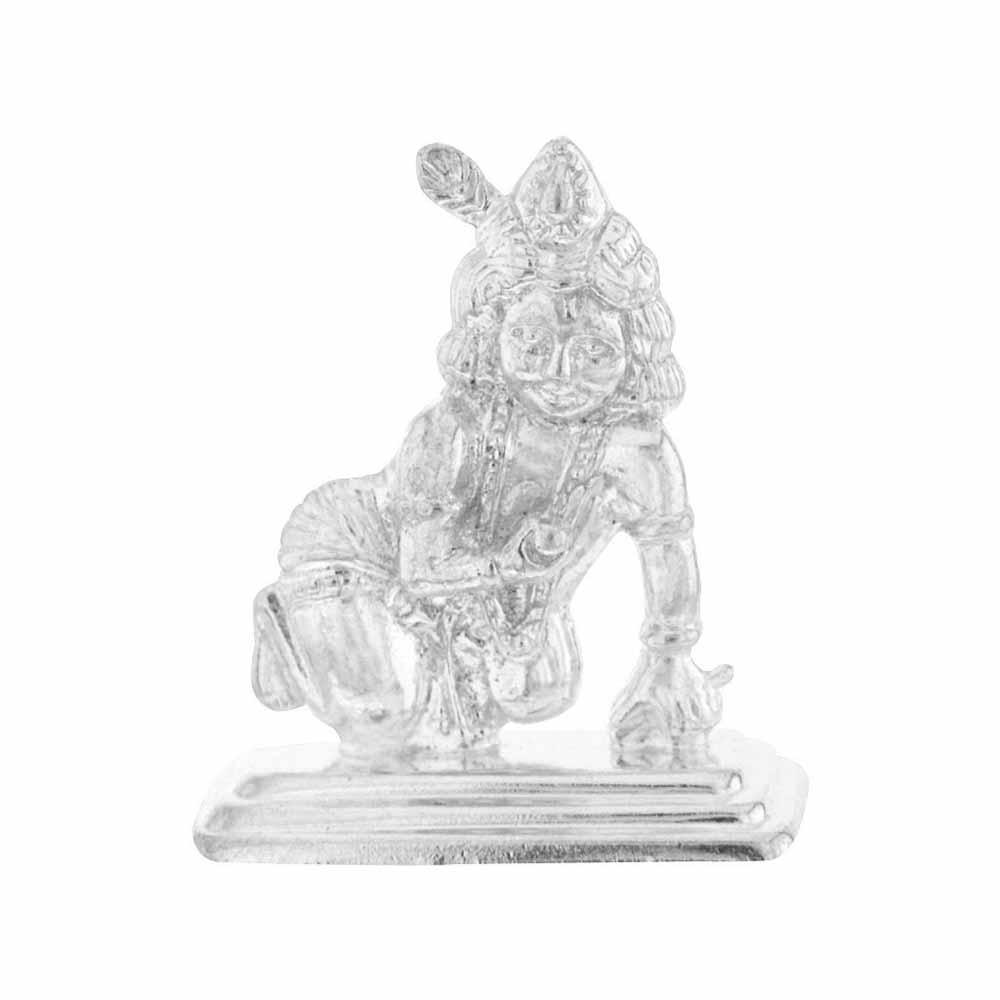 Silver Idols-Bal Gopal Silver Idol