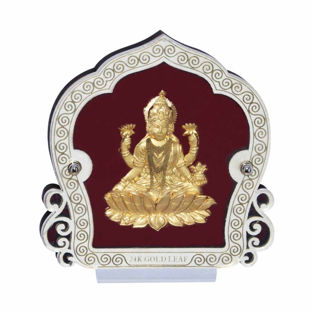 Silver Idols-Ethnic Laxmi Idol