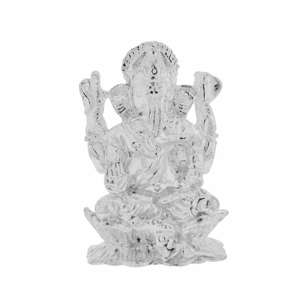 Ganesh Silver Idol