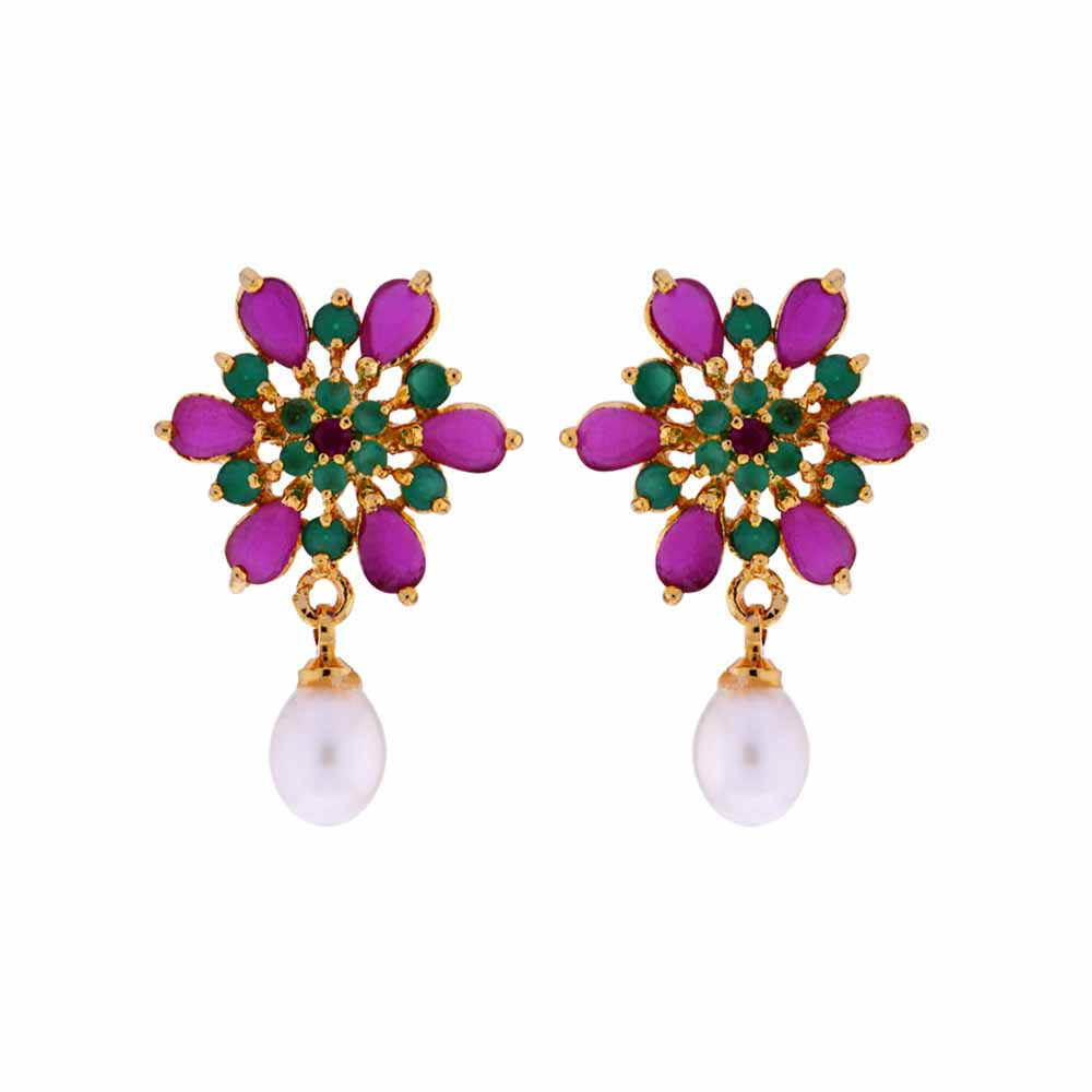 Color Drop Earrings