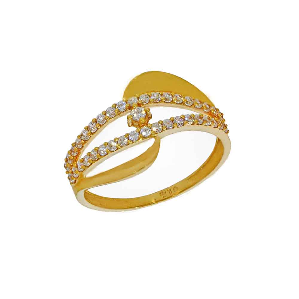 22kt Gold Bright Finger Ring
