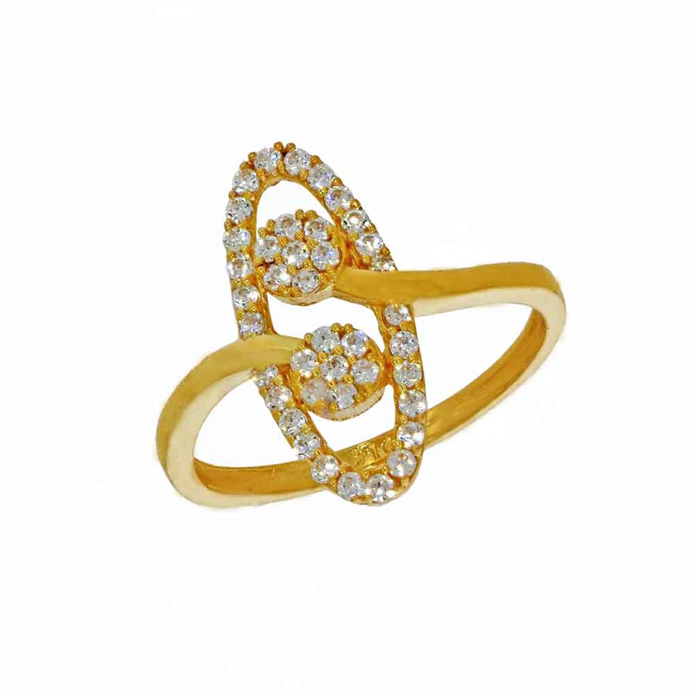 22kt Gold Wonderful Finger Ring