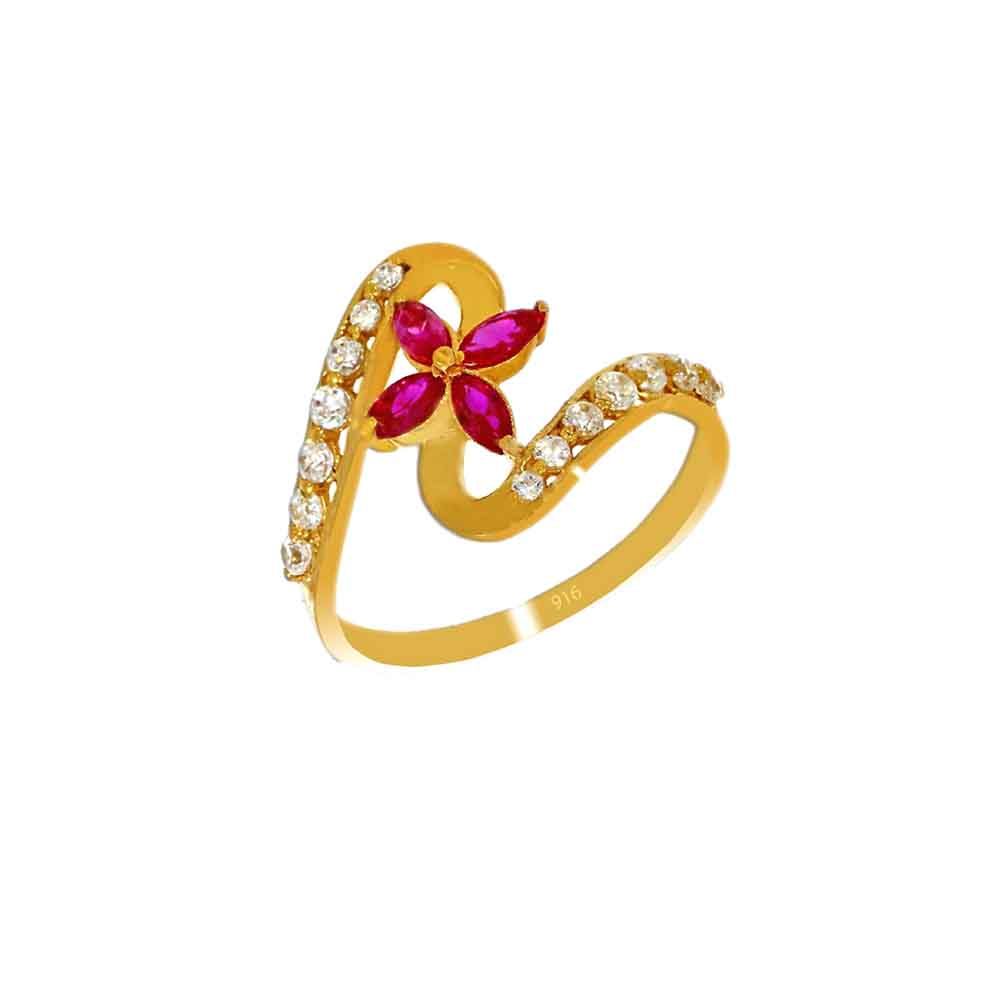 22kt Gold Incredible Finger Ring