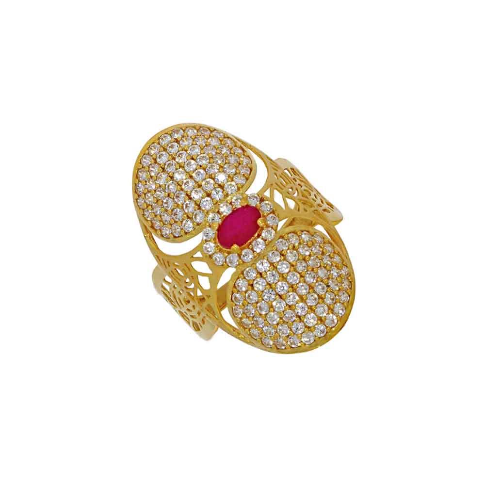 22kt Gold Amazing Finger Ring