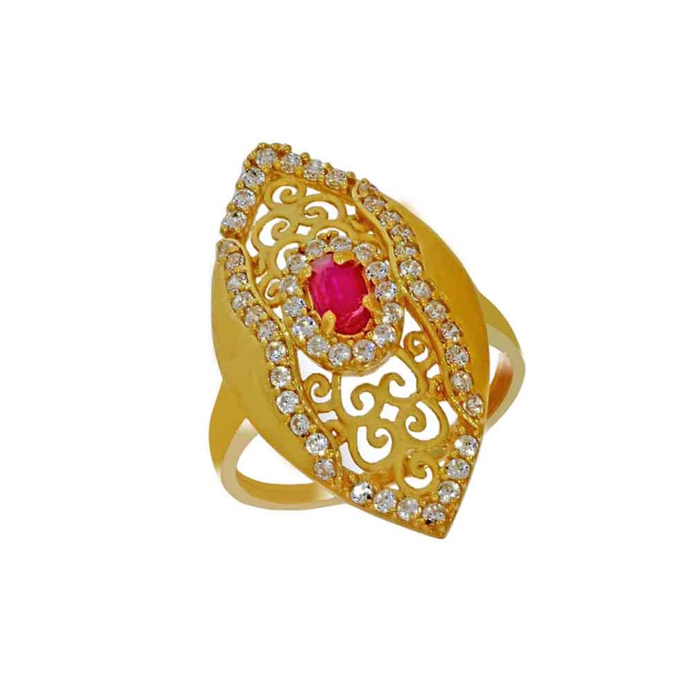 22kt Gold Astonishing Finger Ring