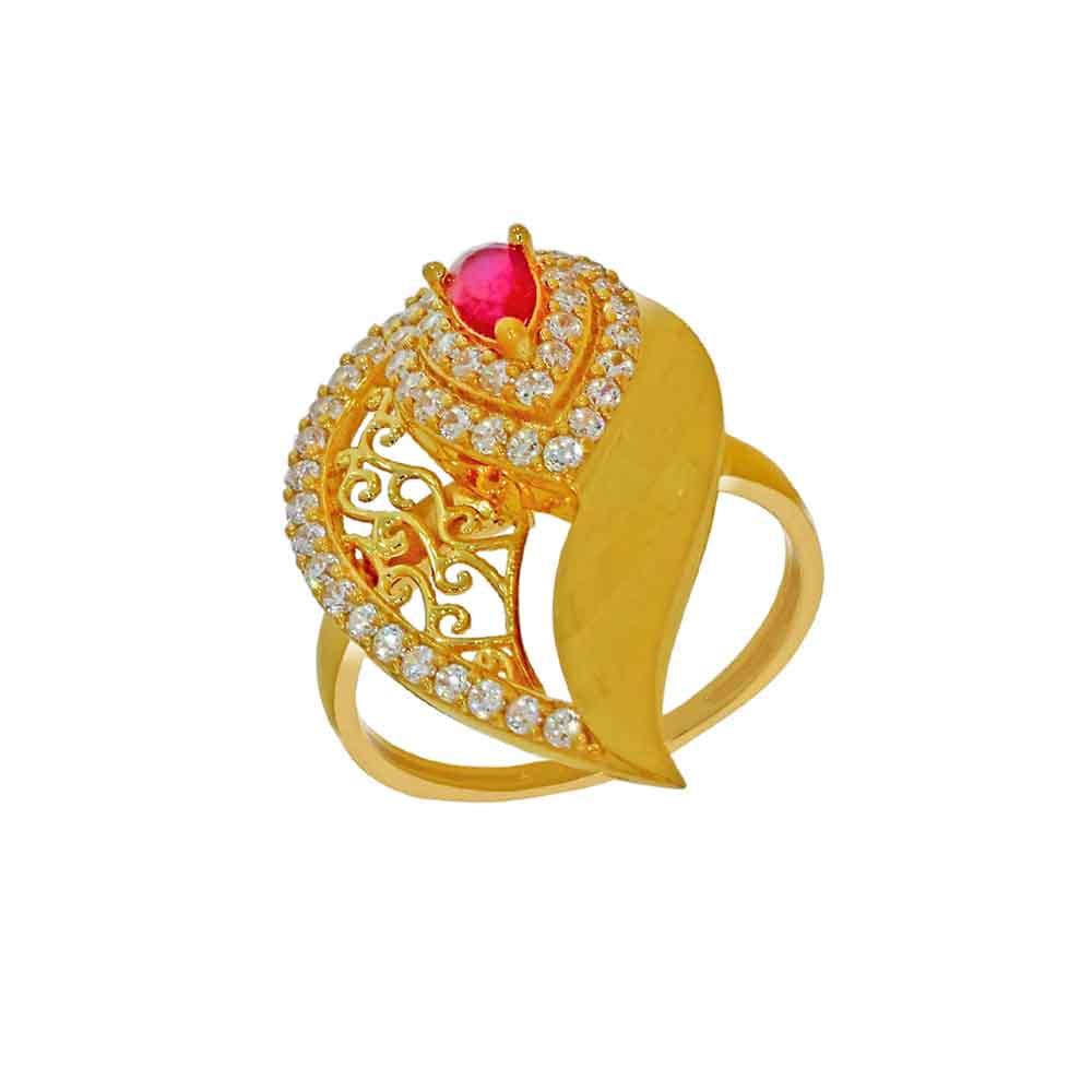 22kt Gold Surprising Finger Ring