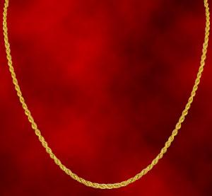 Jagdamba Rope Style Gold Chain