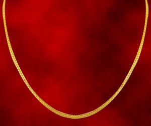 Jagdamba Snake Style Gold Chain
