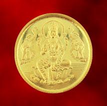 Gold-Jagdamba 22Kt Lakshmi Gold Coin- 10 Grams