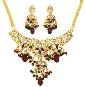 Traditional Rajasthani Necklace Set