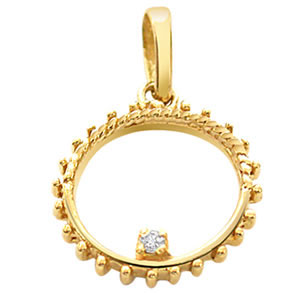 Diamond & Gold Pendant