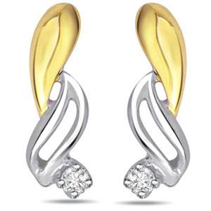 Diamond & Gold Earrings