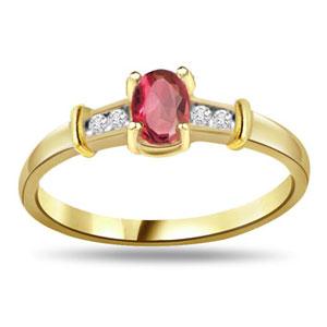 Diamond & Ruby Ring