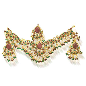Maharani Necklace Earrings Set