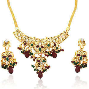 Traditional Rajasthani Necklace Set