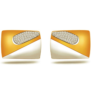 Diamond Cufflinks-Diamond Cufflinks for Men