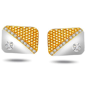 Diamond Cufflinks for Men