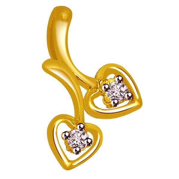 Little Hearts Diamond Pendant