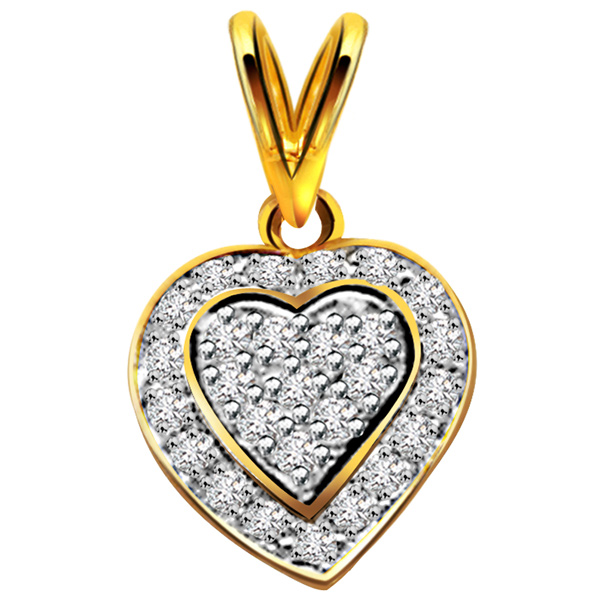 Queen of Love Diamond Pendant