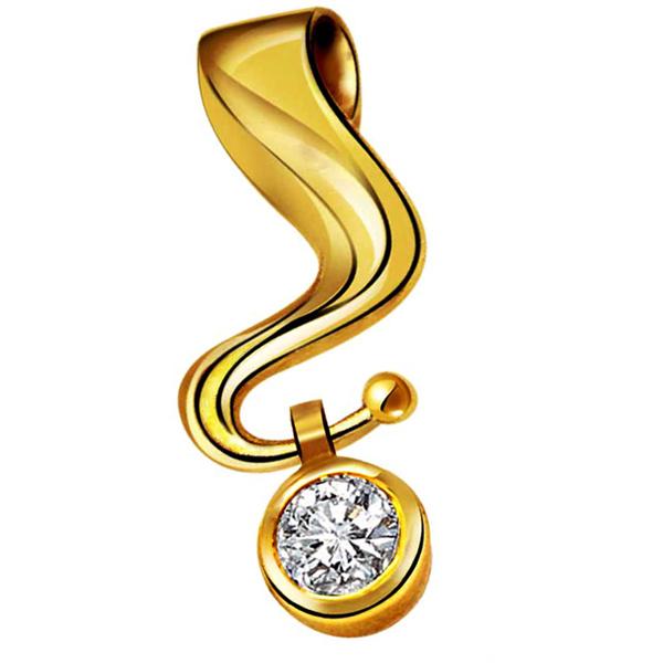 Pure Classic Diamond Pendant