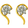 Diamond & Gold Earrings